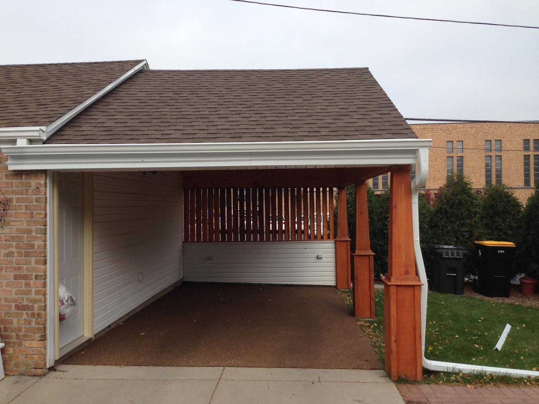 Custom carport built james allen builder wauwatosa wi for Carport builder